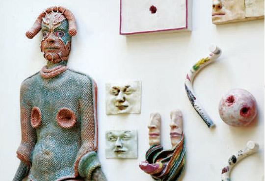 Exposition Tranchée racine avec Michel Gouéry