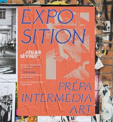 Expo Prépa art atelier de sèvres