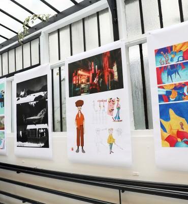 Atelier de Sèvres exposition des classes prépa animation prépa concours école animation