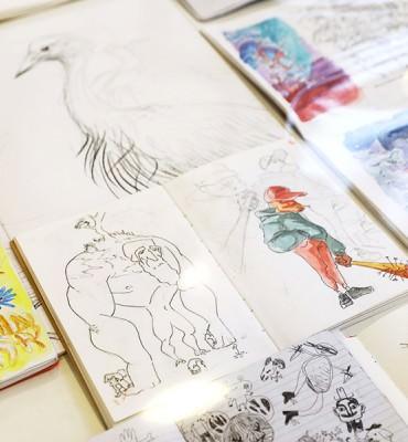 Atelier de Sèvres exposition des classes prépa animation