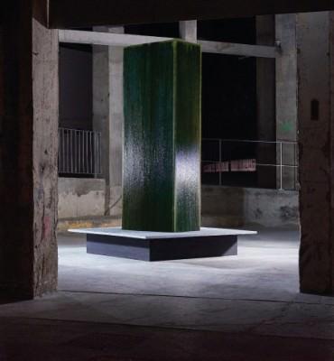 Fabien Leaustic - monolithe - Photographies : Juan Cruz Ibanez