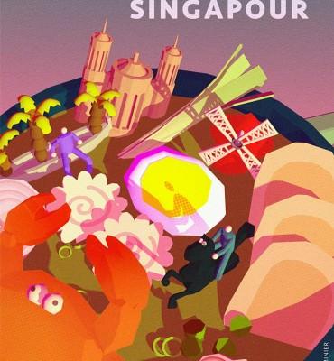 affiche Paris Lyon Singapour 2020 FOOD - Camille Lherminier