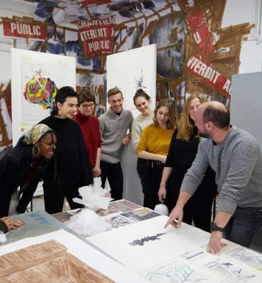 Atelier de Sèvres - Admission conditions prépa concours école art animation - parcoursup