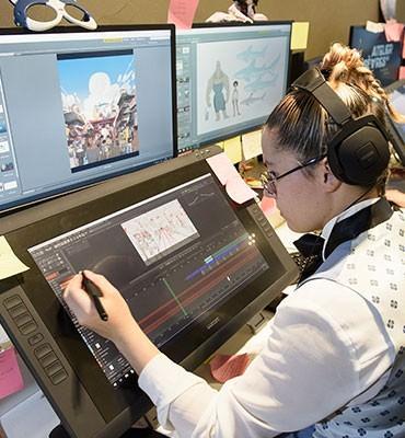 Intégrer l'atelier supérieur d'animation en 2e année