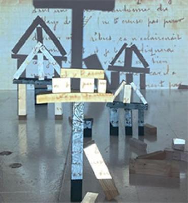 extrait du dossier artistique de Claire Maurice – admise à Rietveld, HEAR, ENSAD et Beaux-Arts de Lyon