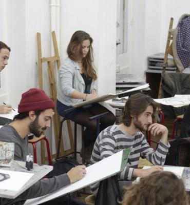 Les cours enseignés en prépa Animation à l'Atelier de Sèvres