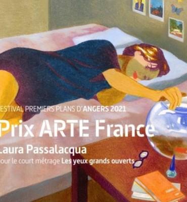 Laura Passalacqua les yeux grands ouverts prix arte sélection Annecy