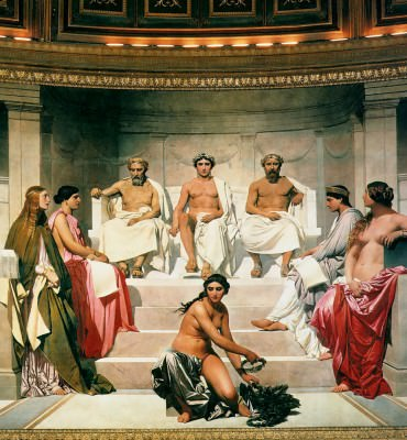 Paul Delaroche - Hémicycle des beaux-arts de Paris