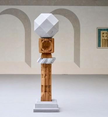 Raphaël Zarka, enseignant en prépa art, expose « Suite gnonomique »