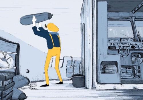 Film d'animation Prépa Atelier de Sèvres - Imperméable