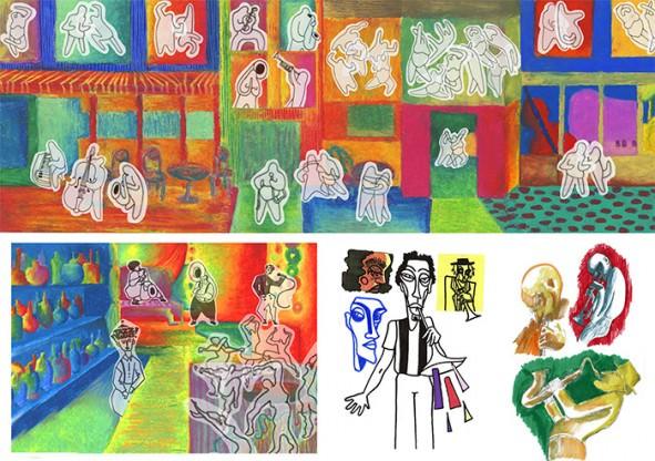 Portfolio Prépa animation - Atelier de Sèvres - Leila Simondi
